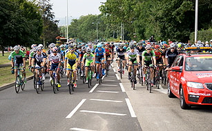 Tour of Britain Cycle Race - Stage 5 Exmouth to Exeter