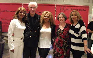 Steven & Lynn with The Three Degrees